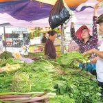 Giáp Tết, rau xanh giảm giá mạnh