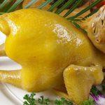 Gà cúng luộc – Nguyên liệu: Gà trống thả vườn