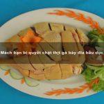 Mách bạn bí quyết chặt thịt gà bày đĩa bầu dục