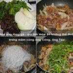Miến xào lòng gà – gọi tên món ăn không thể thiếu trong mâm cúng ông Công, ông Táo